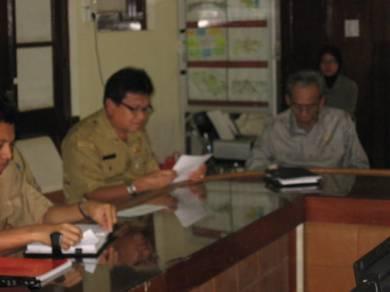 Suasana Lokakarya Desiminasi Program DBE di Kota Makassar