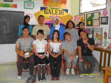 Foto Bareng Pengelola PSBG dengan anggota IIWC