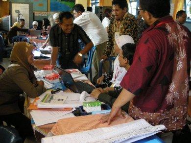 Peserta TOT DALI Bangkalan Jatim Diskusi