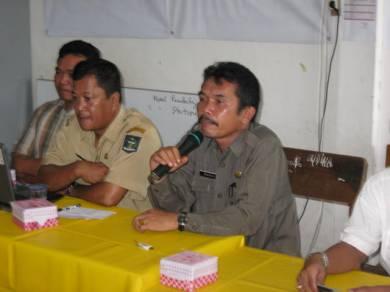 Kepala Dinas Pendidikan Kota Sibolga, Drs. Rustam Manalu membuka Sosialisasi Pembelajaaran Internet di PSBG Saiyo Sakato, Selasa 11/11 untuk gelombang kedua.