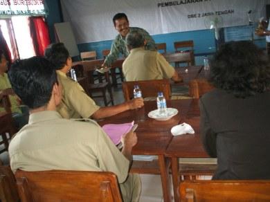 Siap memberi pengarahan, selepas BPS2 di PSBG Borobudur, Blora.