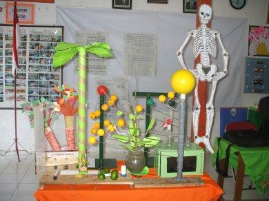 Alat Peraga Murah hasil karya peserta KKG2 Kabupaten Blora, Jawa Tengah