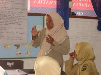 Pejuang pendidikan pelanjut cita-cita R.A.Kartini unjuk gigi di Pelatihan KKKS dan KKG II Paket Matematika