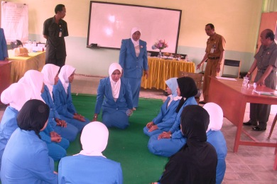 Reflikasi Program IAI di Gugus binaan Kabupaten Pinrang, disaksikan stakeholders pendidikan setempat