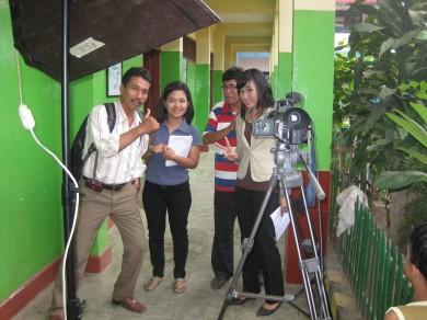 Action crew RGB Production Jakarta, Presenter, dan MTT