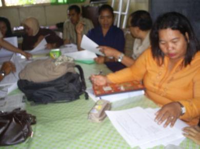 Sisis lain dari aktifitas guru di SD Katolik Mamajang I