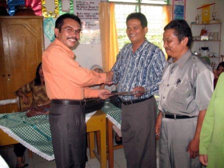 Kadis Pendidikan melantik pengurus baru di PSBG Cemerlang 1 Agustus 2009