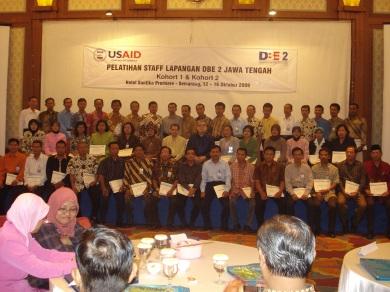 Wisuda Fasilitator & Trainer DBE 2 Jawa Tengah