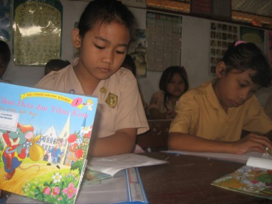Selektif membaca buku